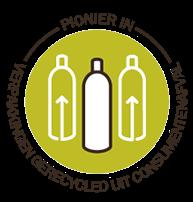 Verpakkingen gerecycled uit consumentenafval